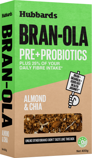 Hubbards Almond and Pear Bran-ola