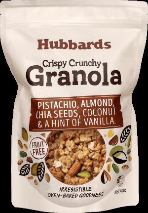 Hubbards Pistachio, Almond & Chia Seeds Granola