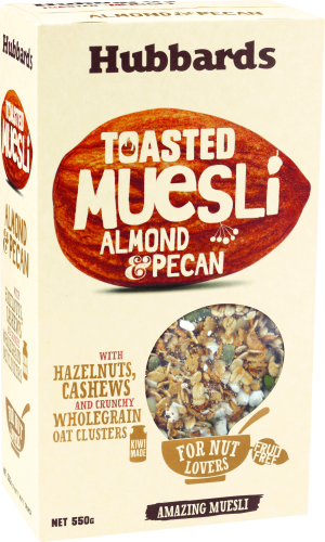 Hubbards Toasted Almond & Pecan Muesli