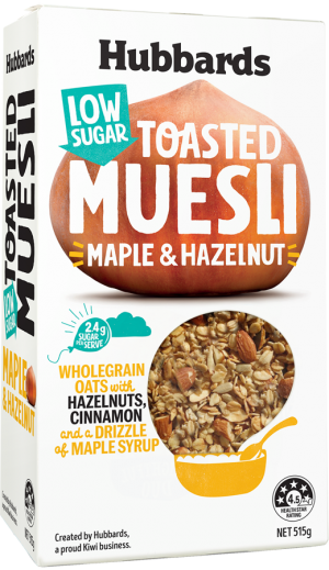 Hubbards Low Sugar Muesli Maple and Hazelnut