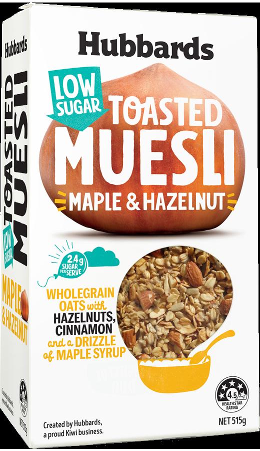Hubbards Low Sugar Muesli Maple and Hazelnut