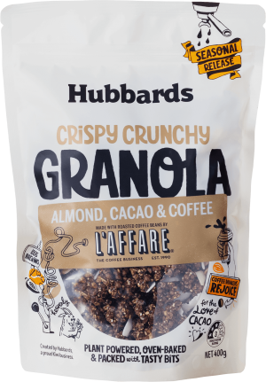 Hubbards Almond Cacao Coffee Granola